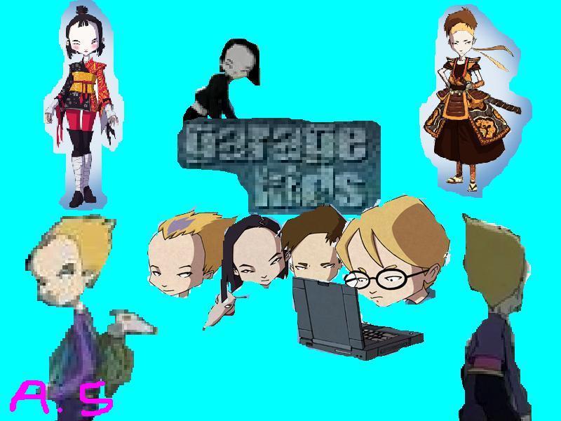 Code Lyoko Garage Kids Backrounds